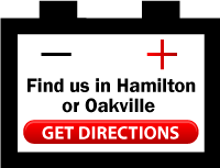 Find us in Hamilton or Oakville