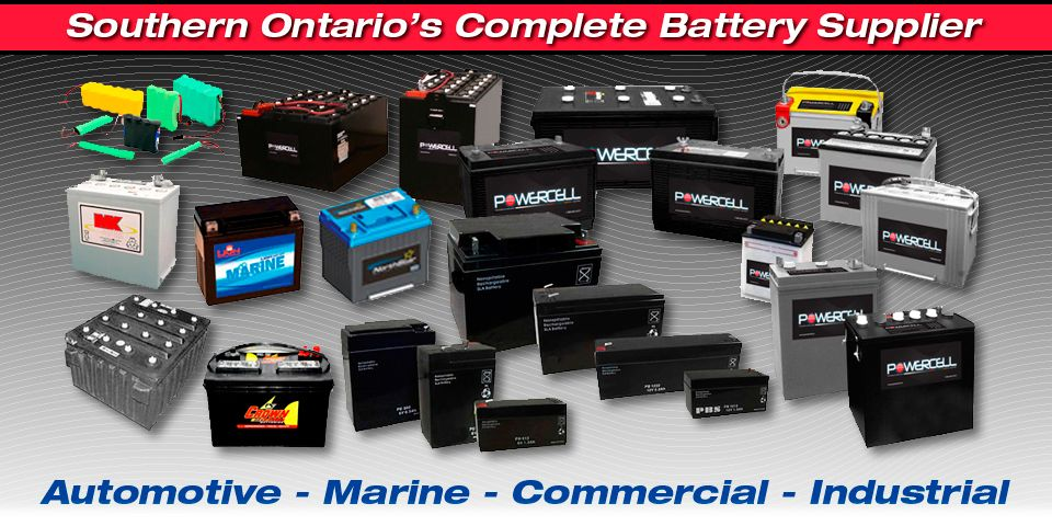 Southern Ontario's Complete Battery Supplier